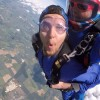 Saul's skydive for Stonepillow!