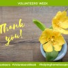 Celebrating our Volunteers during Volunteers' Week 1-7th June