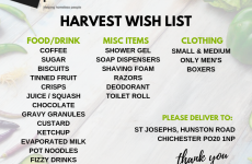 Harvest Wish List