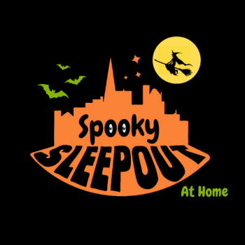 Spooky Sleep Out at Home - Saturday 31st October