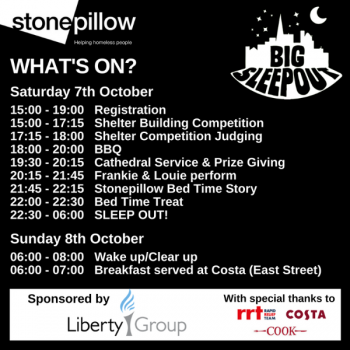 It's not too late to sign up to the Big Sleep Out!
