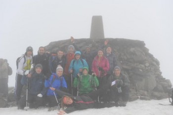 Supporters Take On 3 Peaks!