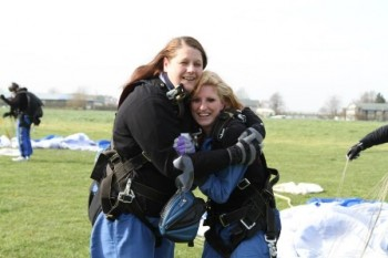 Staff Sponsored Skydive