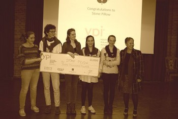 Bedales Students win £3000 for Stonepillow!